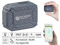 TrackerID WLAN, GPS & GSM-Tracker, Live-Tracking-App, Gegensprech-Funktion, IP67