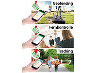 ; GPS-GSM-Tracker mit Apps & SOS-Funktionen, Kinder-Smartwatches mit Tracking per GPS & GSM/LBS GPS-GSM-Tracker mit Apps & SOS-Funktionen, Kinder-Smartwatches mit Tracking per GPS & GSM/LBS