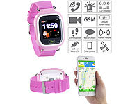 TrackerID Kinder-Smartwatch, Telefon, GPS-, GSM-, WiFi-Tracking, SOS-Taste, rosa; Wasserdichte GPS-, WLAN- & GSM-Tracker mit Apps & SOS-Funktionen, Kinder-Smartwatches mit GSM- & LBS-Tracking Wasserdichte GPS-, WLAN- & GSM-Tracker mit Apps & SOS-Funktionen, Kinder-Smartwatches mit GSM- & LBS-Tracking Wasserdichte GPS-, WLAN- & GSM-Tracker mit Apps & SOS-Funktionen, Kinder-Smartwatches mit GSM- & LBS-Tracking
