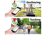 ; GPS-GSM-Tracker mit Apps & SOS-Funktionen GPS-GSM-Tracker mit Apps & SOS-Funktionen